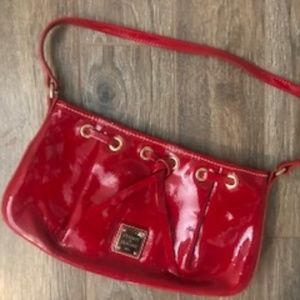 Dooney & Bourke Small Red Patent Leather Purse